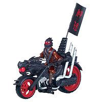 """Мотоцикл """"Черепашки-Ниндзя"""" с уникальной фигуркой Фут-ниндзя, фото 1"""