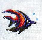 """Набор для вышивания бисером """"Рыбка пестрая"""" Б-012, фото 2"""