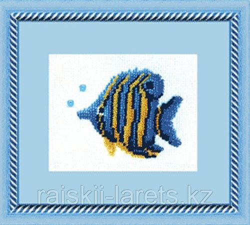 """Набор для вышивания бисером """"Синяя рыбка"""" Б-009"""