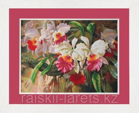 """Набор для вышивания бисером """"Орхидеи"""" Б-601"""