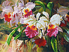 """Набор для вышивания бисером """"Орхидеи"""" Б-601, фото 2"""