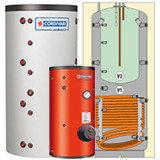 Водонагреватели, буферные емкости, теплоаккумуляторы