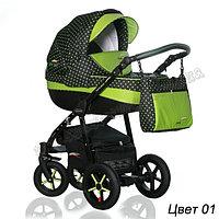 Детская коляска Verdi Pepe Eco 3 в 1 Верди Пепе Эко