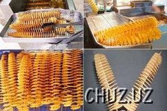 Оборудование для производства чипсов и спиральной картошки