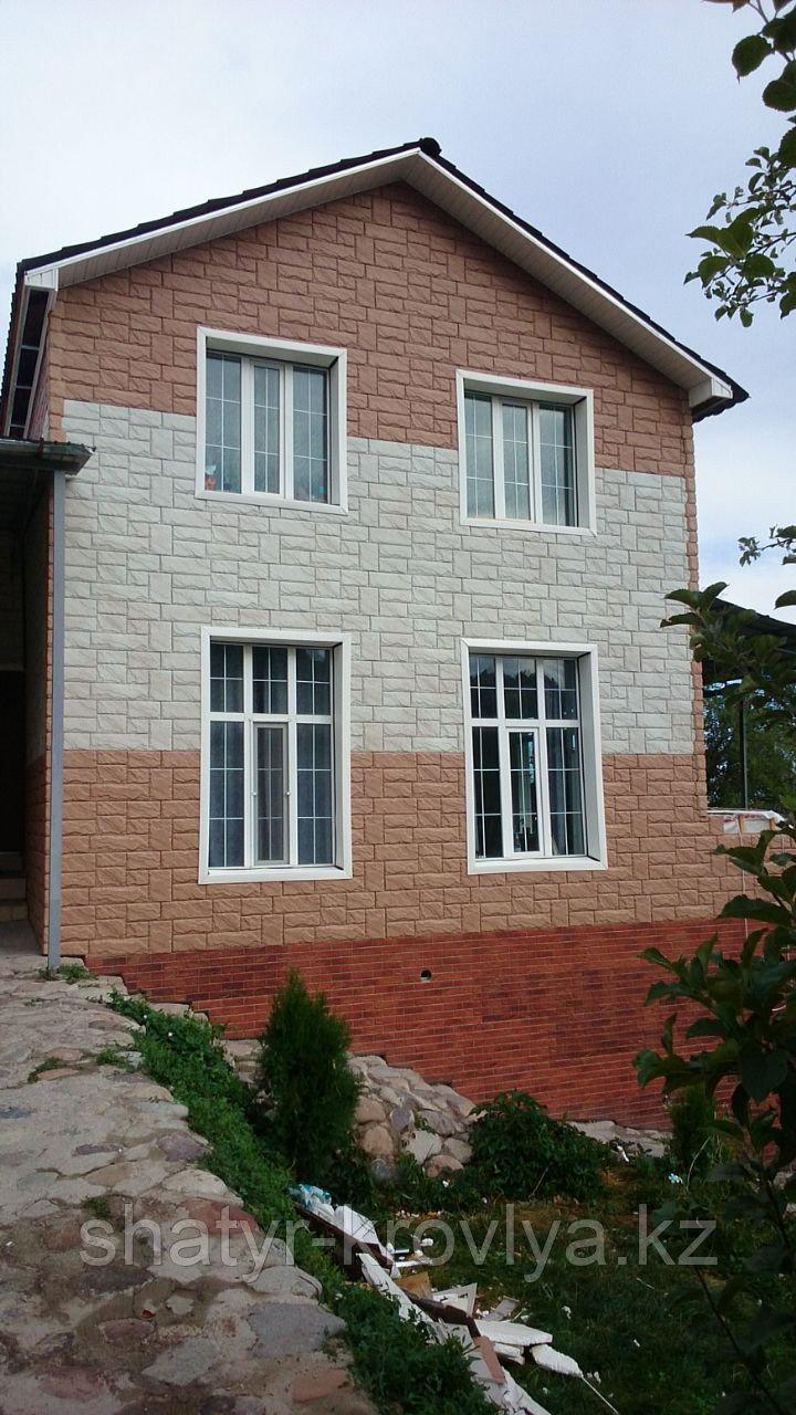 """Фасадные панели серия """"Камень крупный"""""""