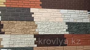 """Пластиковые Фасадные панели серия """"Камень"""", """"Кирпич"""""""