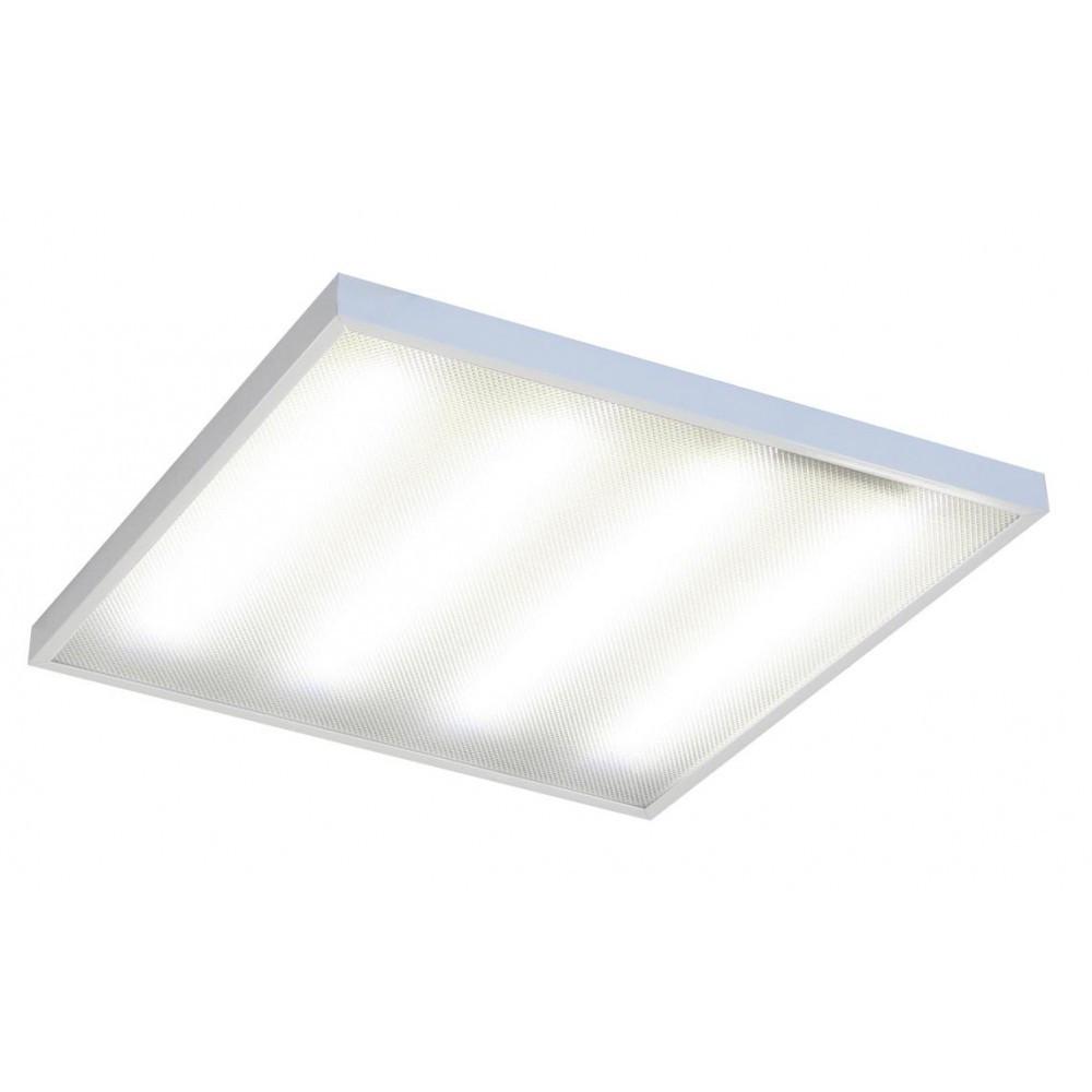 Офисный cветодиодный светильник накладной ЛУЧ   4 х 8  LED (армстронг)