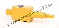 Клапан КС-3577.84.700 обратный управляемый для автокрана Ивановец КС-3577, КС-3574, КС-35714