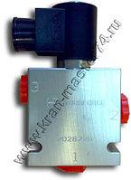 Клапан SV 08-2B-N-24DG с электро-магнитным управлением, пр-во Италия для автокрана Галичанин
