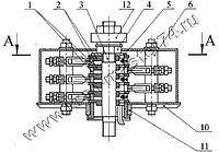 Токосъемник 1044.92Б.00.00 для автокрана Ульяновец МКТ-16, МКТ-20; МКТ-25; МКТ-30; МКТ-40; МКТ-50