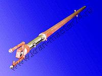 Гидроцилиндр КС-55715.63.900-3-02 выдвижения стрелы для автокрана Галичанин КС-4572А, КС-45719