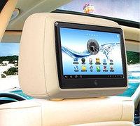 Подголовник со встроенным монитором-планшетом для автомашин