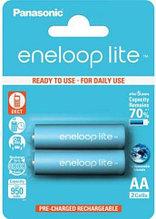 Panasonic BK-3LCCE/2BE eneloop Lite аккумуляторная батарея AA 950 mAh (2 ед/упак)