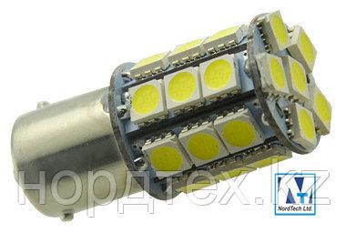 Светодиодная навигационная лампа BAY15d 12-24v  SMD5050