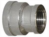 Муфта переходная 1/2*1'' (15*25) никель