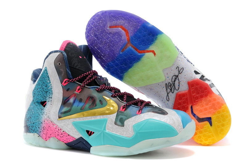 Кроссовки Nike LeBron XI (11) What The (40-46)