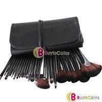 Кисти для макияжа набор 24 штук (черный), фото 1