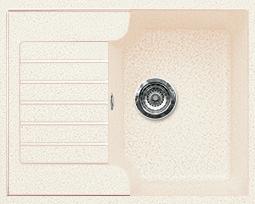 Кухонная мойка из искусственного камня  Gran-Stone GS-13S   (612х497 мм)