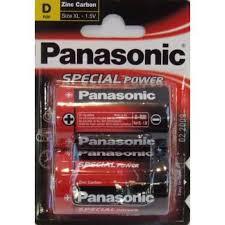 Panasonic R20REL/2BPU Батарейка солевая
