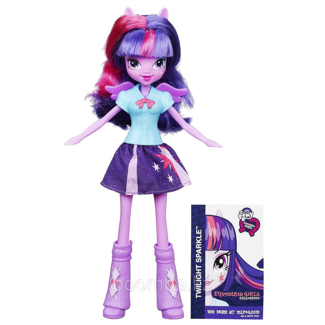 Кукла My Little Pony Equestria Girls - Твайлайт Спаркл в фиолетовых сапожках