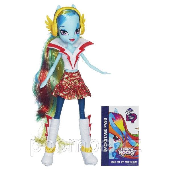 Кукла My Little Pony Equestria Girls - Радуга с наушниками