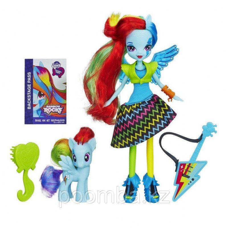 "Кукла ""Девушки Эквестрии"" Rainbow Rocks - Рейнбоу Дэш"