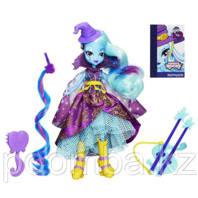 """Кукла Rainbow Rocks """"Девушки Эквестрии"""" - Супер-Модница Трикси"""