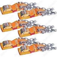 Комплект браслетов противоскольжения 4WD R16-R21, Тип 2, 6шт
