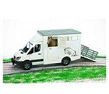 MB Sprinter фургон с лошадью Bruder (Брудер) (Арт. 02-533 02533), фото 2