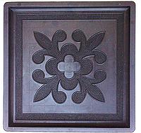 Казахский орнамент 300х300х30мм краковский квадрат