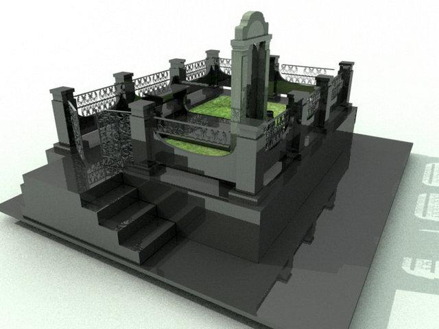 Эскизный проект комплекса. Вид 2.