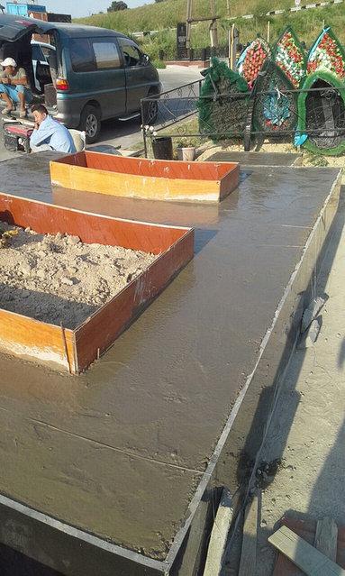 Строительство мемориального комплекса 2