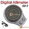 Цифровой альтиметр, барометр, термометр и компас