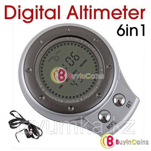 Цифровой альтиметр, барометр, термометр и компас - фото 1