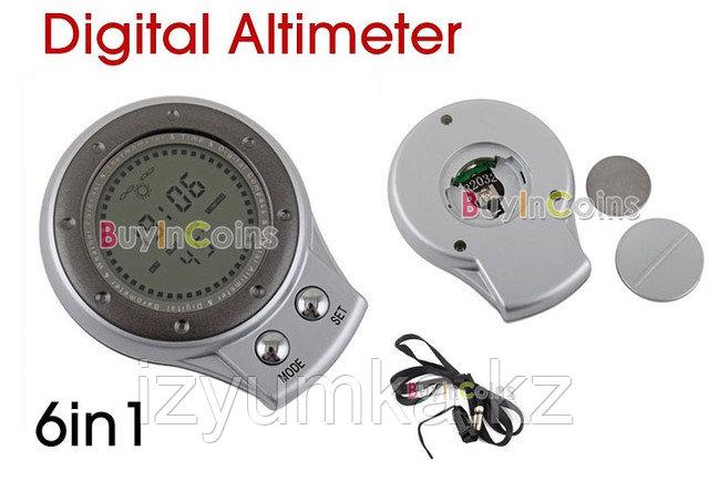 Цифровой альтиметр, барометр, термометр и компас - фото 2