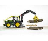 Трактор John Deere 7930 лесной с манипулятором Bruder (Брудер) (Арт. 03-053 03053), фото 2