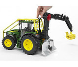 Трактор John Deere 7930 лесной с манипулятором Bruder (Брудер) (Арт. 03-053 03053), фото 8