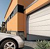 Секционные автоматические гаражные ворота