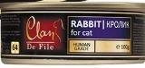 Clan De File 100г Кролик влажный корм для кошек