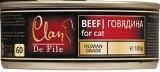 Clan De File 100г Говядина влажный корм для кошек