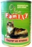 Clan Family 415г паштет из Ягненка влажный корм для кошек