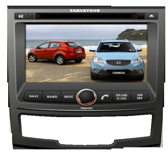 Штатное головное устройство SSANGYONG KORANDO 2010-2013
