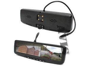 Авто регистраторы встроенные в зеркало заднего вида