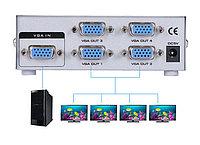 Сплиттер (разветвитель)VGA на 4 порта  150MHz