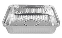 Форма алюминиевая 160х110х27мм, 300мл