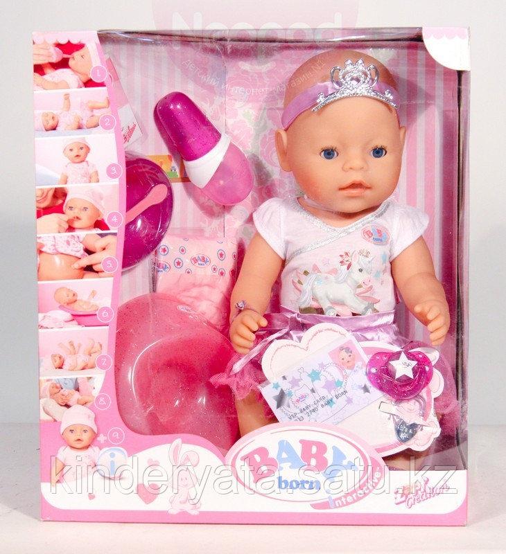BABY born Кукла Принцесса Интерактивная, 43 см