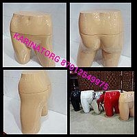 Манекен для демонстрации нижнего белья глянцевый цвет телесно бежевый