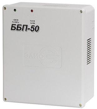 Блок питания ЭЛИС ББП-50, 12V, 5A, под АКБ пласт.