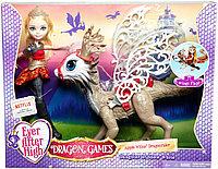 Кукла эвер афтер хай Эппл Уайт с драконом
