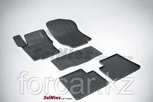 Коврики резиновые (сетка) Seintex в салон MERCEDES-BENZ M-Class W164  2006 -
